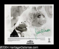 Autographs, Jim Henson Signed Photo
