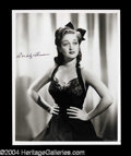 Autographs, Dorothy Lamour Signed Photo (C)