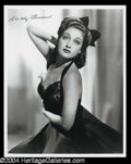 Autographs, Dorothy Lamour Signed Photo (F)
