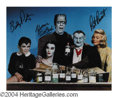 Autographs, The Munsters Cast Signed Photo