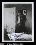 "Autographs, Anthony Perkins Signed ""Psycho"" Photo"