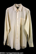 "Autographs, Aidan Quinn Screen Worn Shirt from ""A Private Matter"""