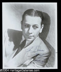 Autographs, George Raft Signed Photo
