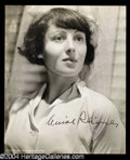 Autographs, Luise Rainer Signed Photo