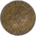 Large Cents, 1793 Chain 1C AMERICA XF45 PCGS. CAC....