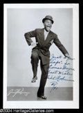 "Autographs, Bill ""Bojangles"" Robinson Vintage Signed Photo"