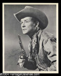 Autographs, Roy Rogers Signed 8 x 10 Photo