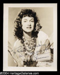 Autographs, Rise Stevens Vintage Signed Photo