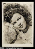 Autographs, Shirley Temple Vintage Signed Photo