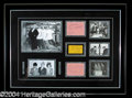 Autographs, Three Stooges Framed Signature Set