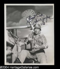Autographs, John Wayne Great Signed 8 x 10 Photo