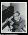 Autographs, Steve Allen Signed 8 x 10 Photo