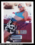 Autographs, Patricia Arquette Signed 8 x 10 Photo