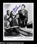 Autographs, Hank Ballard Signed 8 x 10 Photo