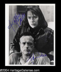 "Autographs, Kathy Bates & James Caan Signed ""Misery"" Photo"