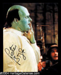 Autographs, Peter Boyle Signed Photo as Young Frankenstein