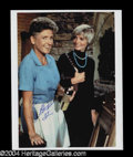 Autographs, The Brady Bunch Henderson/Davis Signed Photo