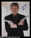 Autographs, Charles Bronson Signed 8 x 10 Photo
