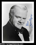 Autographs, James Cagney Great Signed Photo