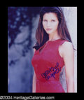Autographs, Charisma Carpenter Signed 8 x 10 Photo