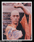 Autographs, David Carradine Signed 8 x 10 Photo