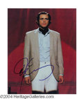 Autographs, Jim Carrey Signed Photo as Andy Kaufman