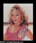 Autographs, Kim Cattrall Signed 8 x 10 Photo