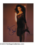 Autographs, Cher Signed 8 x 10 Photo