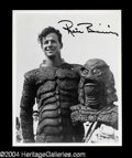 "Autographs, Ricou Browning ""Black Lagoon"" Signed Photo"
