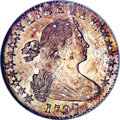 Early Half Dimes, 1797 H10C 16 Stars MS64 NGC. CAC....