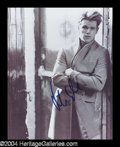 Autographs, Matt Damon In-Person Signed Photo