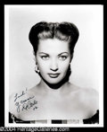 Autographs, Yvonne DeCarlo Beautiful Signed Photo