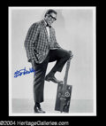 Autographs, Bo Diddley Signed 8 x 10 Photo