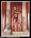 Autographs, Kirk Douglas In-Person Signed Photo