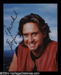 Autographs, Michael Douglas In-Person Signed Photo