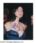 Autographs, Minnie Driver In-Person Signed Photo