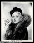 Autographs, Alice Faye Signed Photo