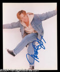 Autographs, Michael J. Fox In-Person Signed Photo