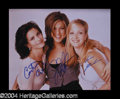 Autographs, Friends Signed 8 x 10 Photo: The Gals!