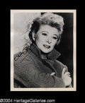 Autographs, Greer Garson Signed 8 x 10 Photo