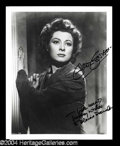 Autographs, Greer Garson Signed Photo