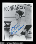 Autographs, Lois Chiles Signed 8 x 10 Photo