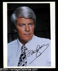 Autographs, Peter Graves In-Person Signed Photo