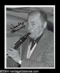 Autographs, Woody Herman Signed 8 x 10 Photo
