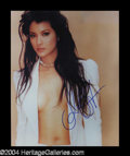 Autographs, Kelly Hu Attractive Signed 8 x 10 Photo
