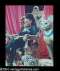Autographs, Eartha Kitt Signed 8 x 10 Photo