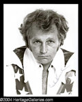 Autographs, Evel Knievel Signed 8 x 10 Photo