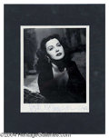 Autographs, Hedy Lamarr Beautiful Signed Photo