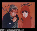 Autographs, Laverne & Shirley Signed 8 x 10 Photo