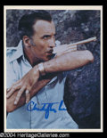 Autographs, Christopher Lee Signed 8 x 10 Photo